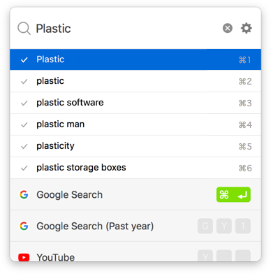 Haste - Save time on every web search  - Plastic Software